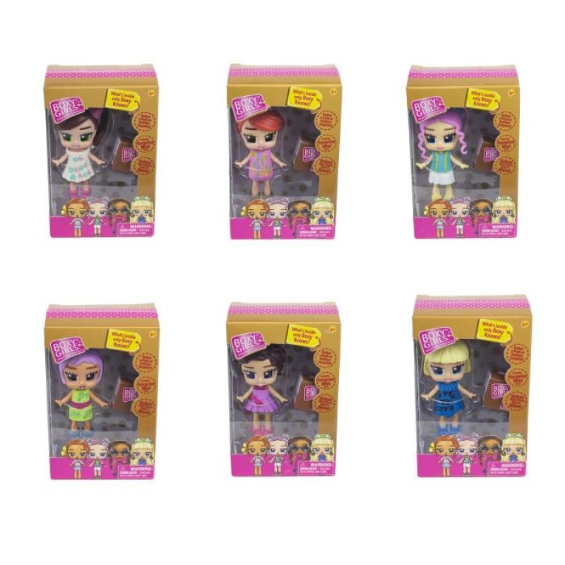 1 Toy Кукла Boxy Girls Mini с аксессуарами 8 см