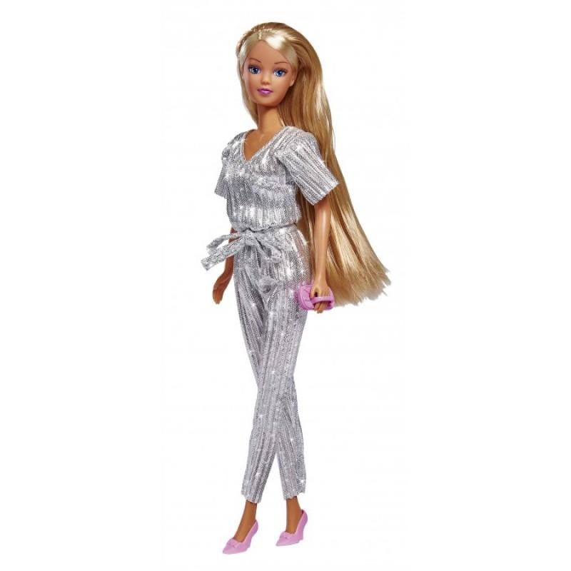 Simba Кукла Штеффи в блестящем комбинезоне 29 см