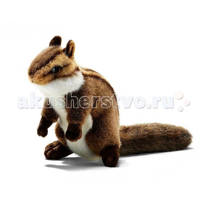 Мягкая игрушка Hansa Бурундук сидящий 16 см