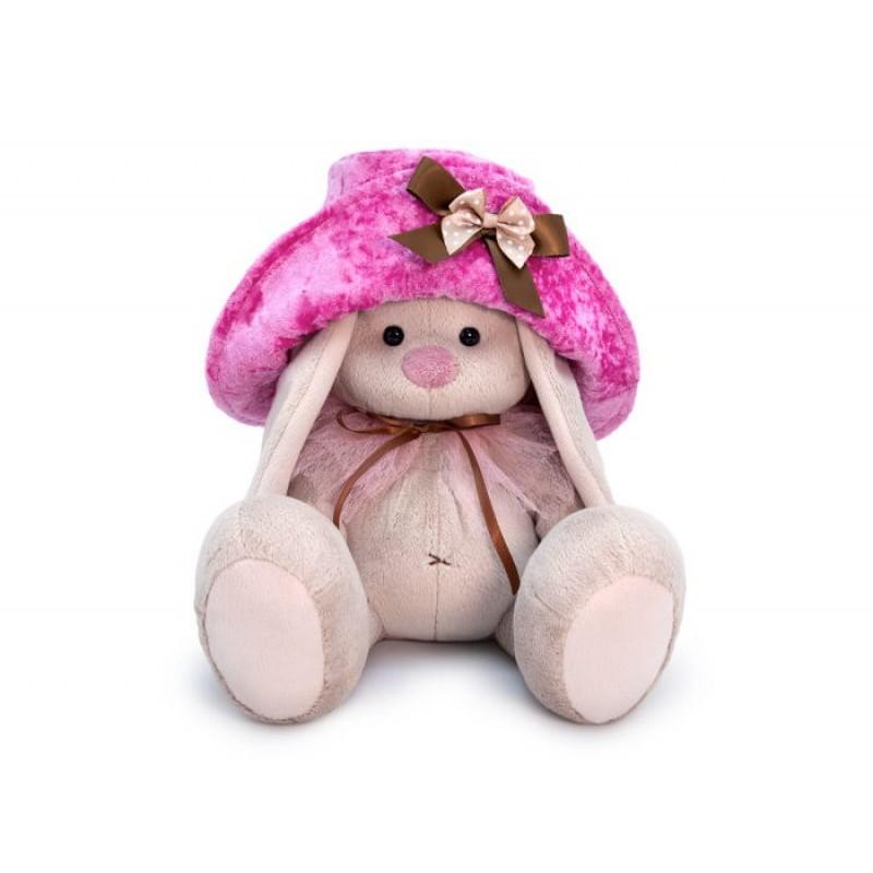 Мягкая игрушка Budi Basa Зайка Ми в шляпе 23 см