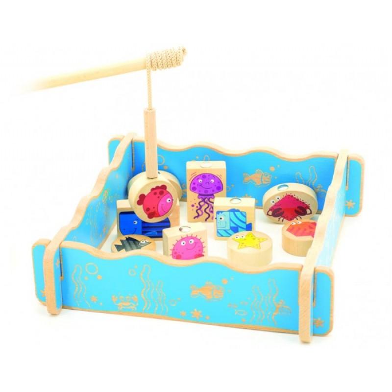 Мир деревянных игрушек Игровой набор Магнитная рыбалка