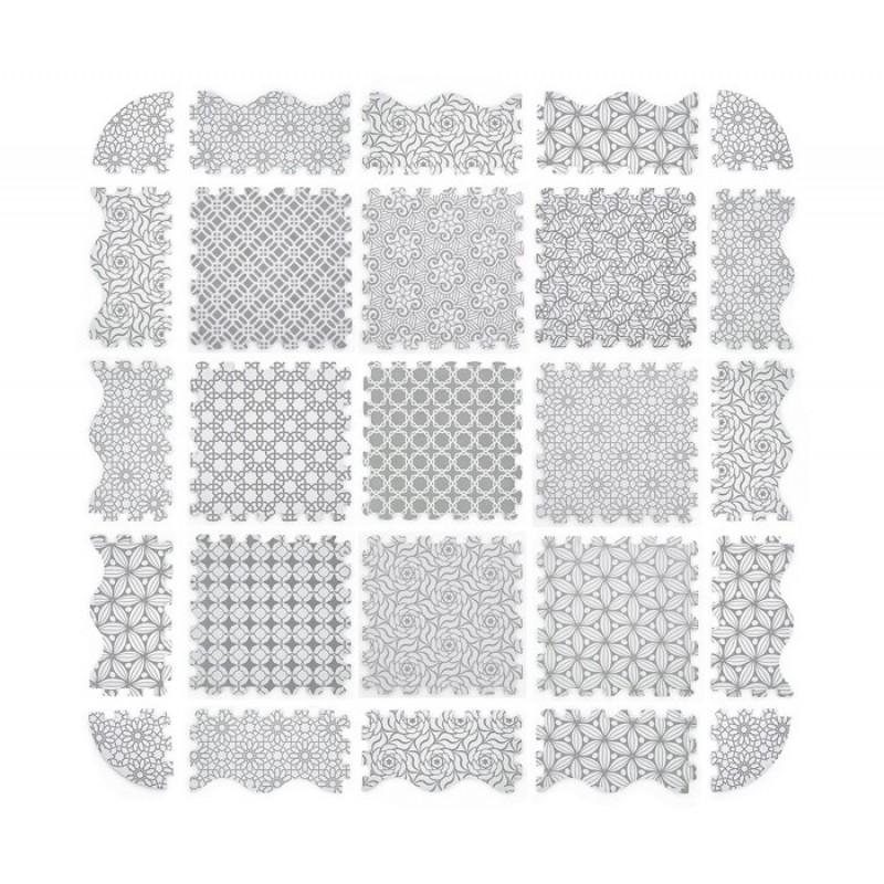Игровой коврик FunKids двусторонний КомфиЭко-12, толщина 15 мм KB-091-25-NT