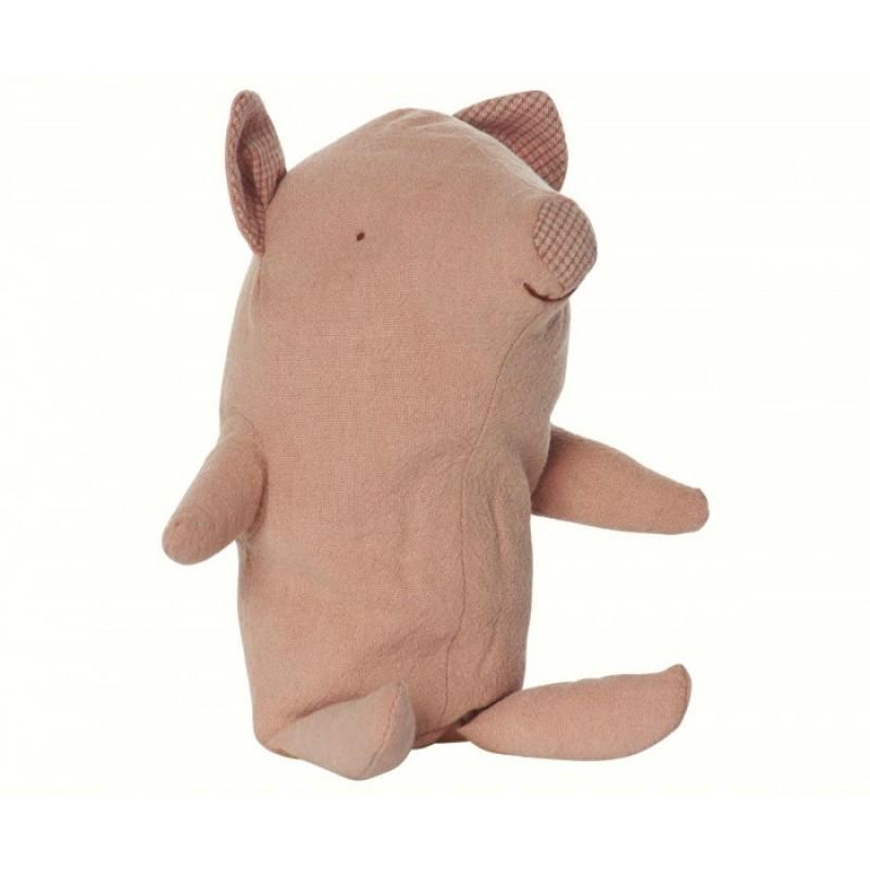 Мягкая игрушка Maileg Поросенок Трюфель малыш 22 см