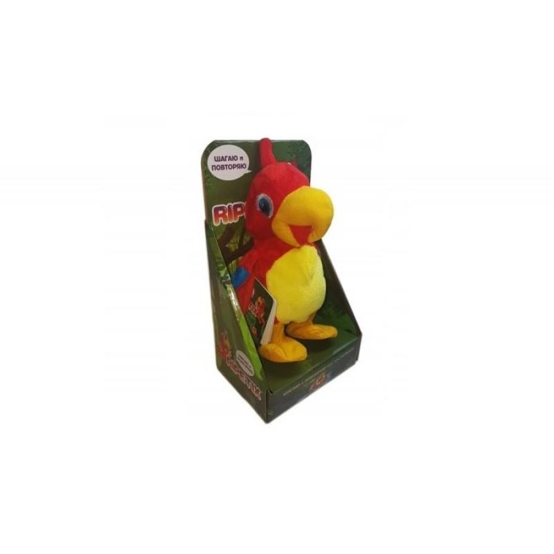 Интерактивная игрушка Ripetix Попугай «Шагаю и Повторяю»