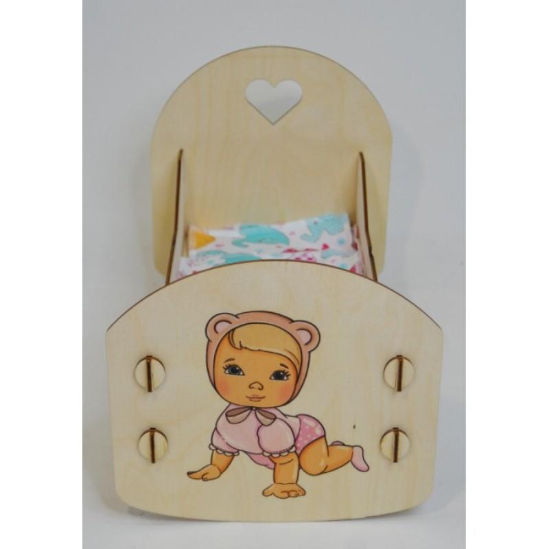 Кроватка для куклы Коняша Облака Ася