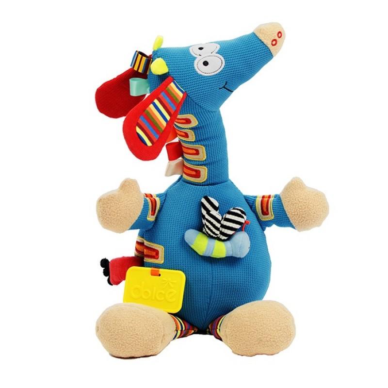 Развивающая игрушка Dolce Музыкальный Жирафик