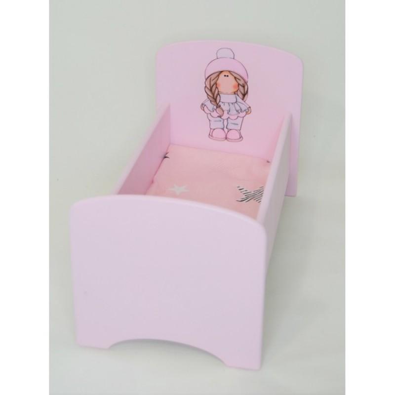 Кроватка для куклы Коняша Косичка