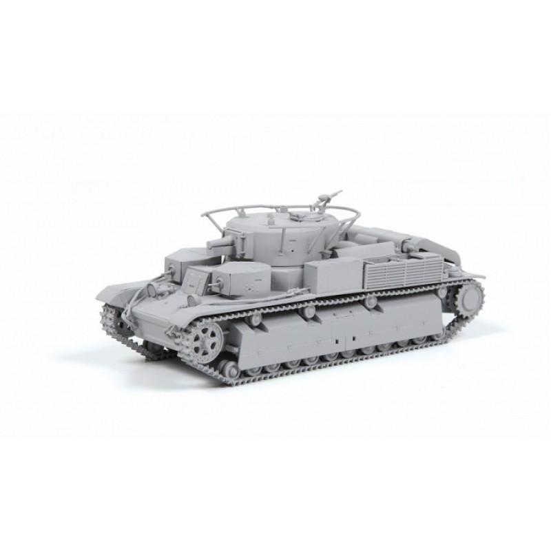 Звезда Сборная модель Советский средний танк Т-28