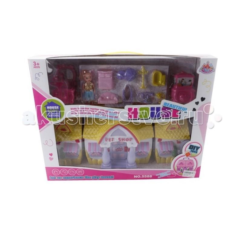 Veld CO Дом для кукол с аксессуарами 43870