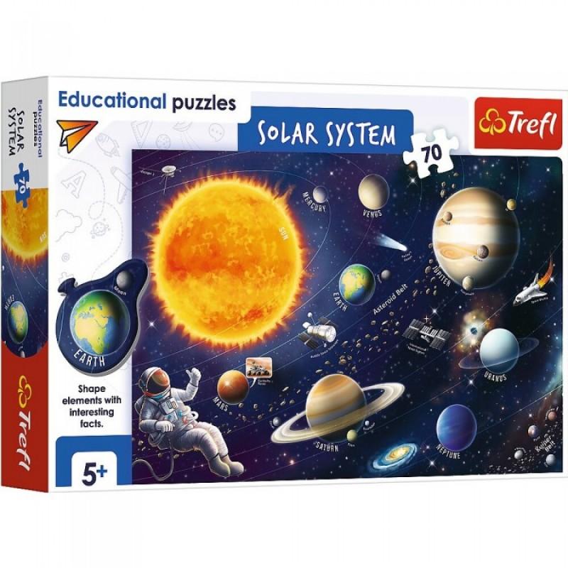 Trefl Пазлы Солнечная система (70 элементов)