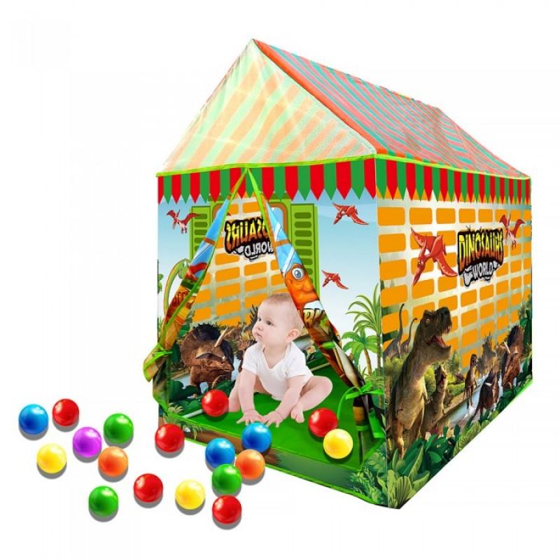 Pituso Дом Динозавр + 50 шаров