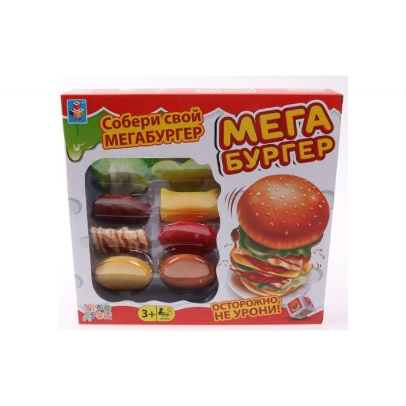 1 Toy Игра настольная Мегабургер