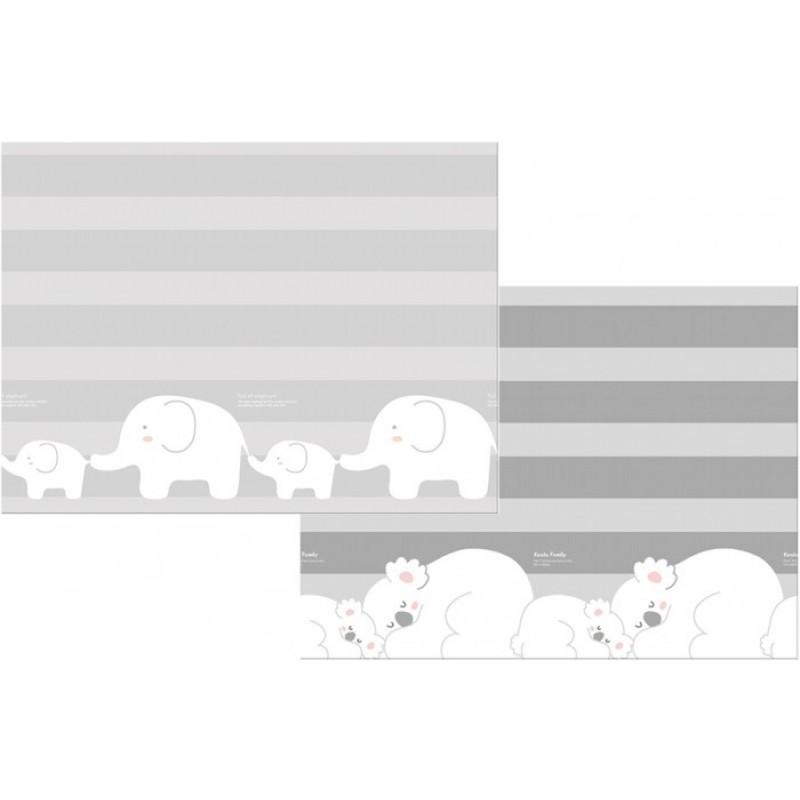 Игровой коврик Parklon Двухсторонний Prime Living Коалы/Слоники за хвостики 180x200x1.5 см