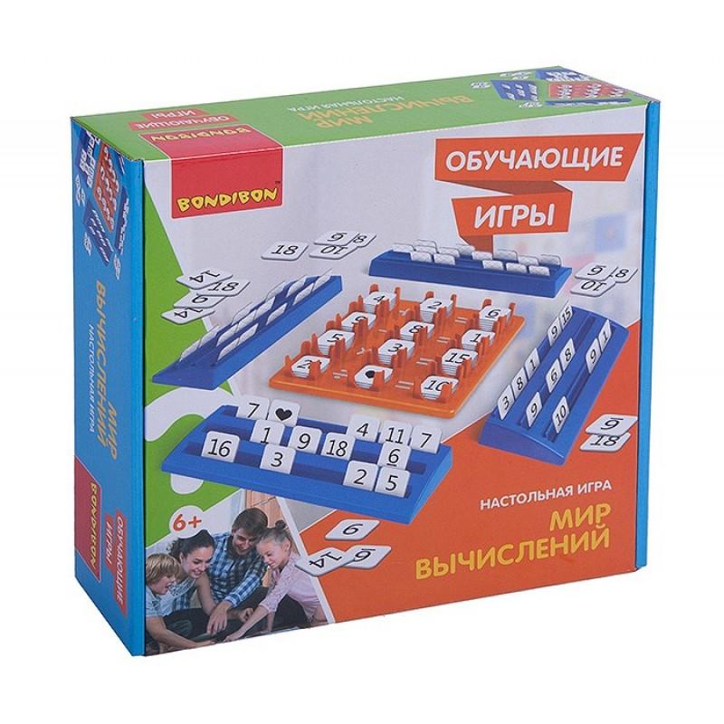 Bondibon Настольная игра Мир вычислений