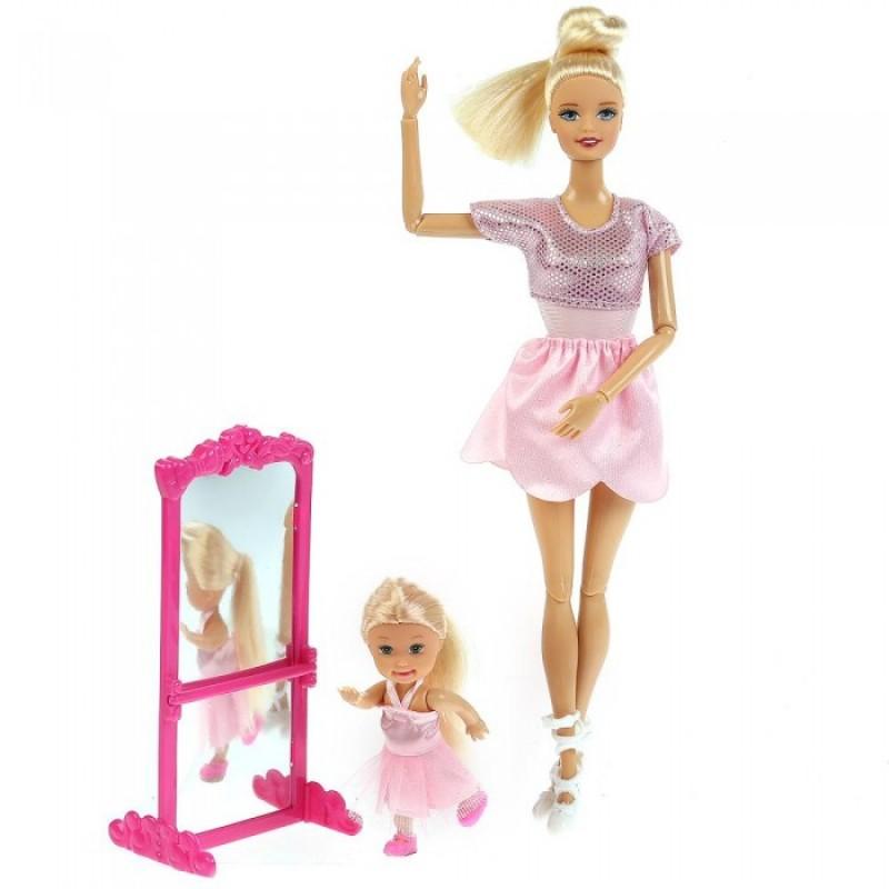 Карапуз Кукла София с дочерью Балерины 29 см