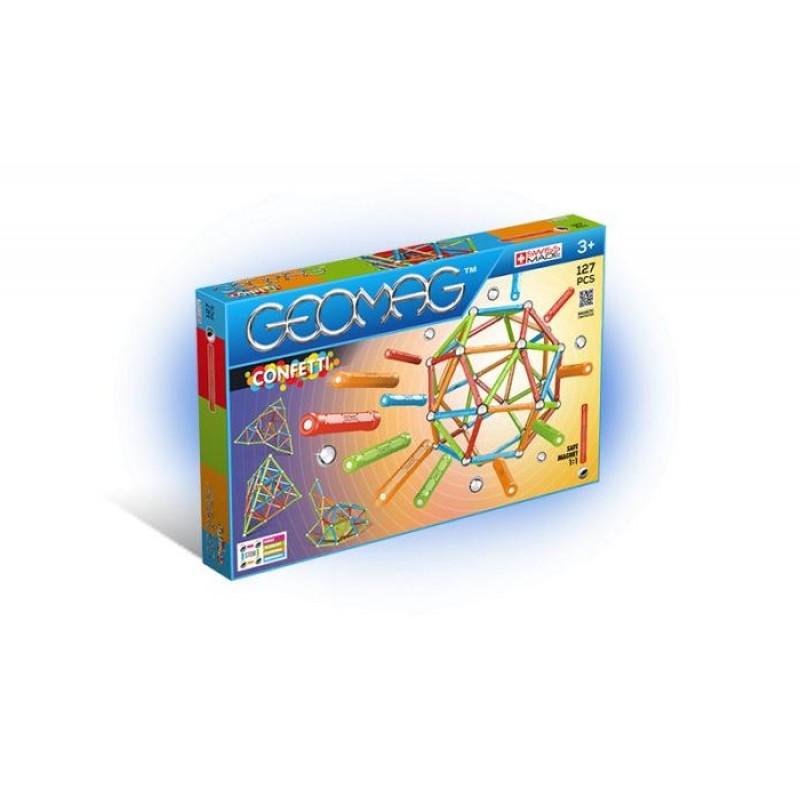 Конструктор Geomag магнитный Confetti (127 деталей)