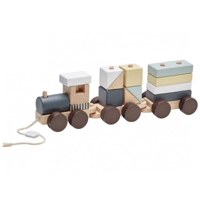 Деревянная игрушка Kid's Concept Поезд с блоками