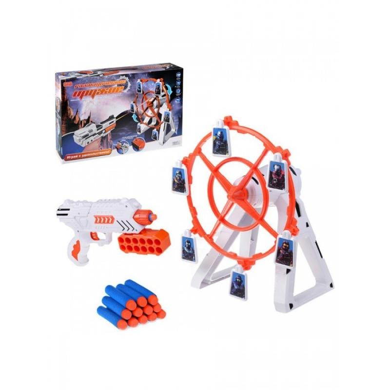 Zhorya Игровой набор пистолет Галактическое оружие с подвижной мишенью