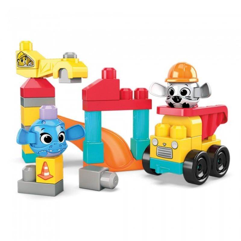 Конструктор Mega Bloks Маленькая стройка (30 деталей)