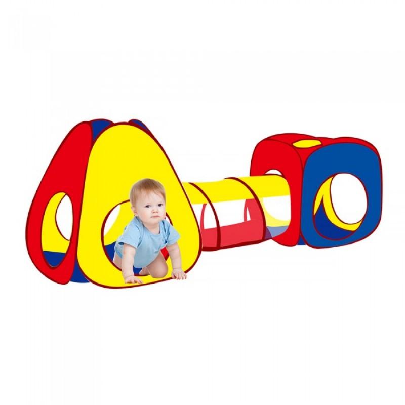 Pituso Дом Конус туннель и квадрат + 100 шаров 260x90 см