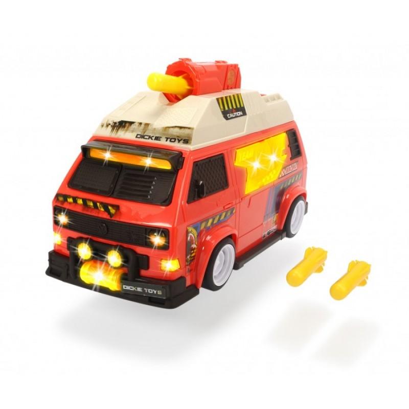 Dickie VW T3 Camper Машинка с залповой установкой 28 см