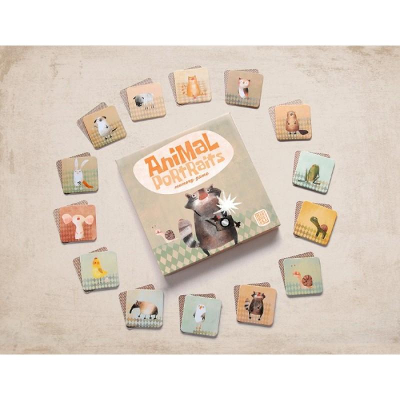 Marbushka Мемори Портреты животных
