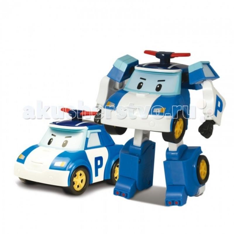 Робокар Поли (Robocar Poli) Робот Полицейская машина Поли трансформер 7,5 см