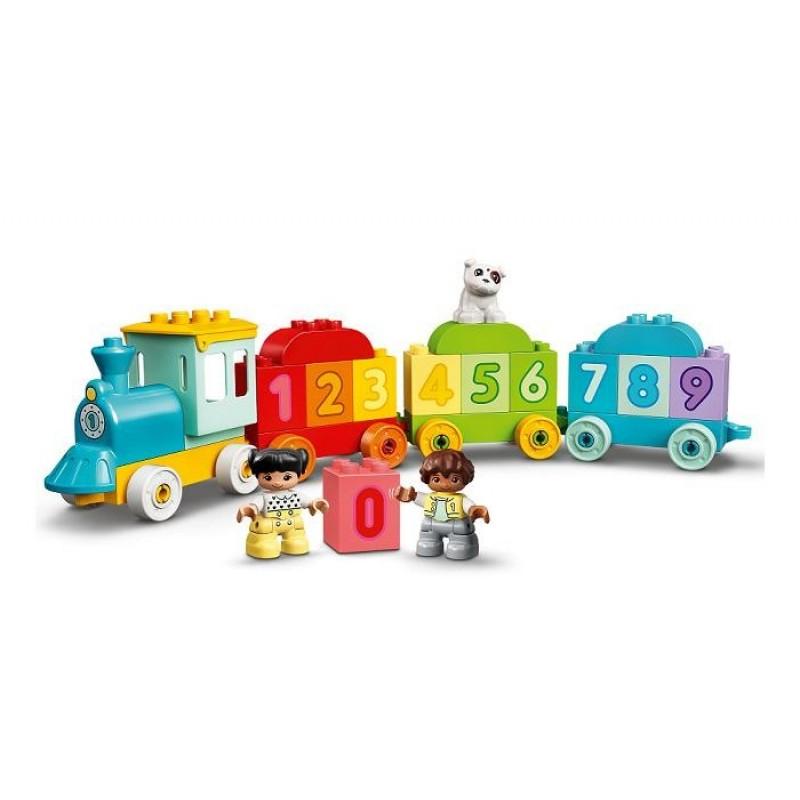 Конструктор Lego Duplo Поезд с цифрами - учимся считать