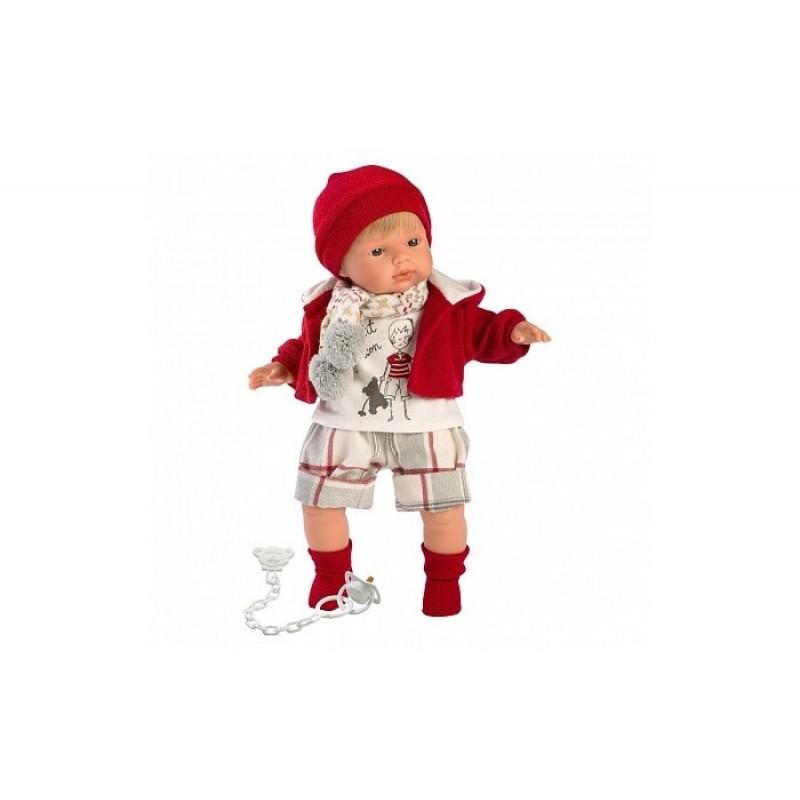 Llorens Кукла Саша 38 см со звуком