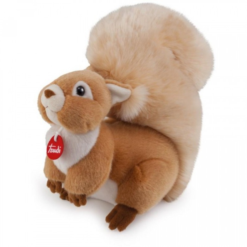 Мягкая игрушка Trudi Белочка Джинджер 25 см