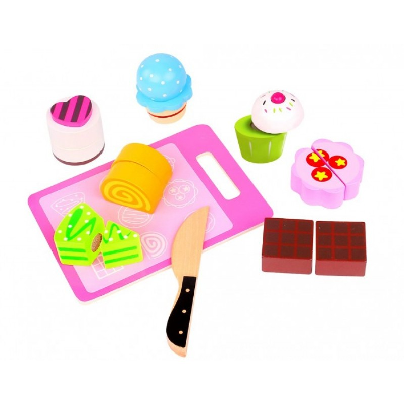 Деревянная игрушка Tooky Toy набор Чаепитие