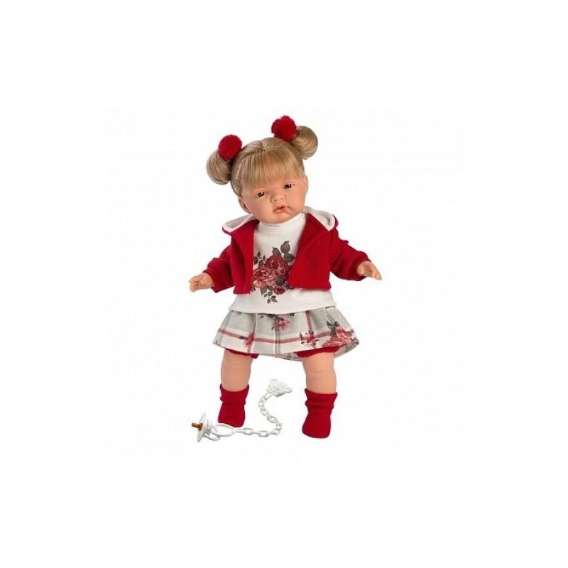 Llorens Кукла Жоель 38 см со звуком L 38556