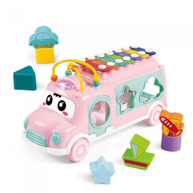 Развивающая игрушка Haunger сортер Автобус-ксилофон