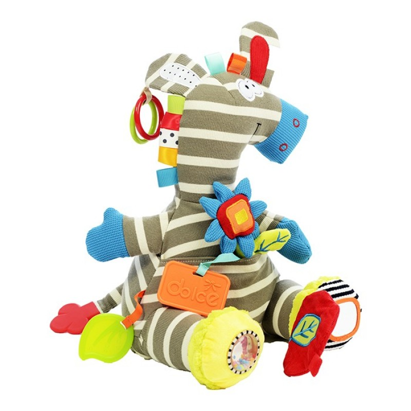Развивающая игрушка Dolce Активная Зебра