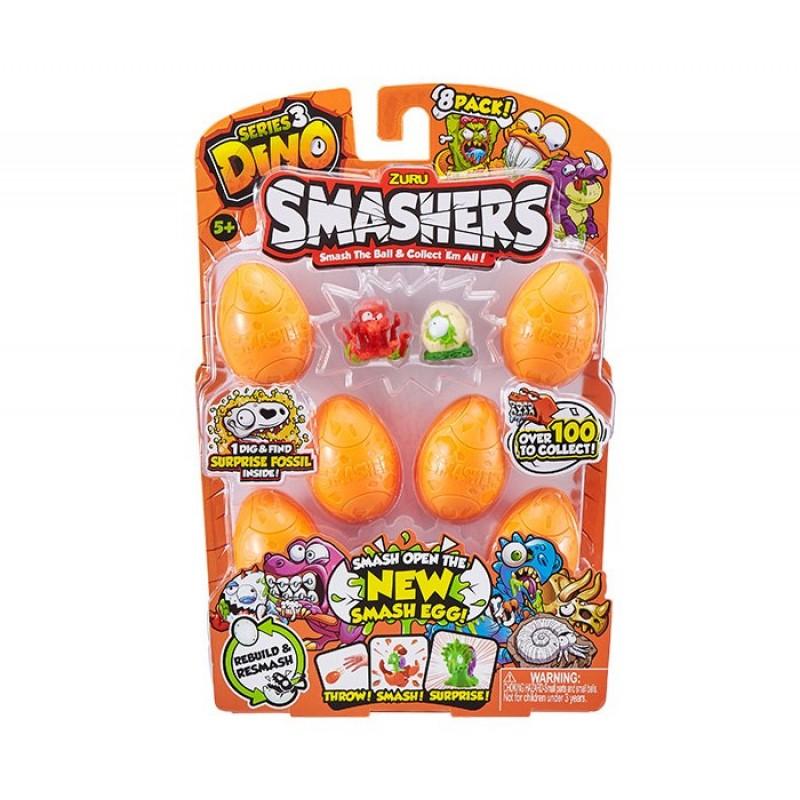 Zuru Smashers Дино-сюрприз в яйце 8 шт.