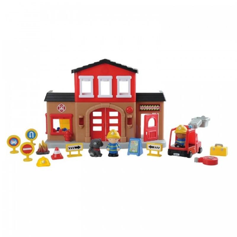 Playgo Игровой набор Пожарная станция Play 9844