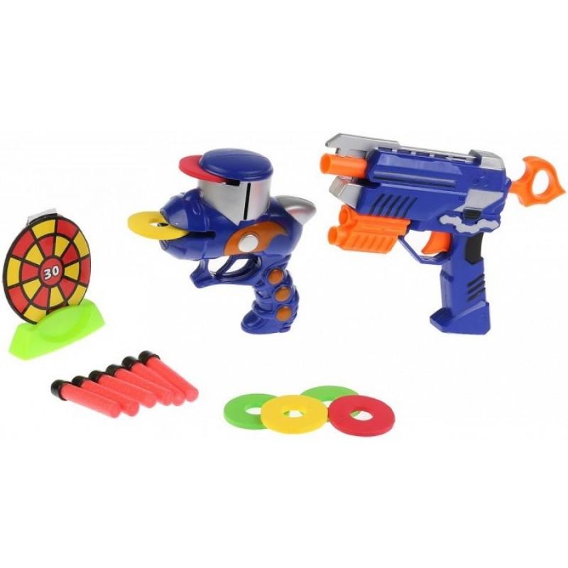Играем вместе Бластер-тир с мягкими пулями, дисками и мишенью B630505-R