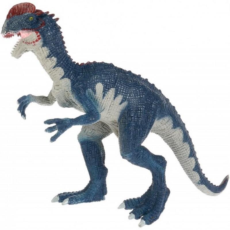 Играем вместе Игрушка пластизоль Динозавр Дилофозавр 26х9х18 см