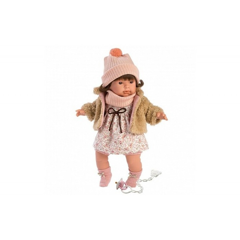 Llorens Кукла Пиппа 42 см со звуком L 42152