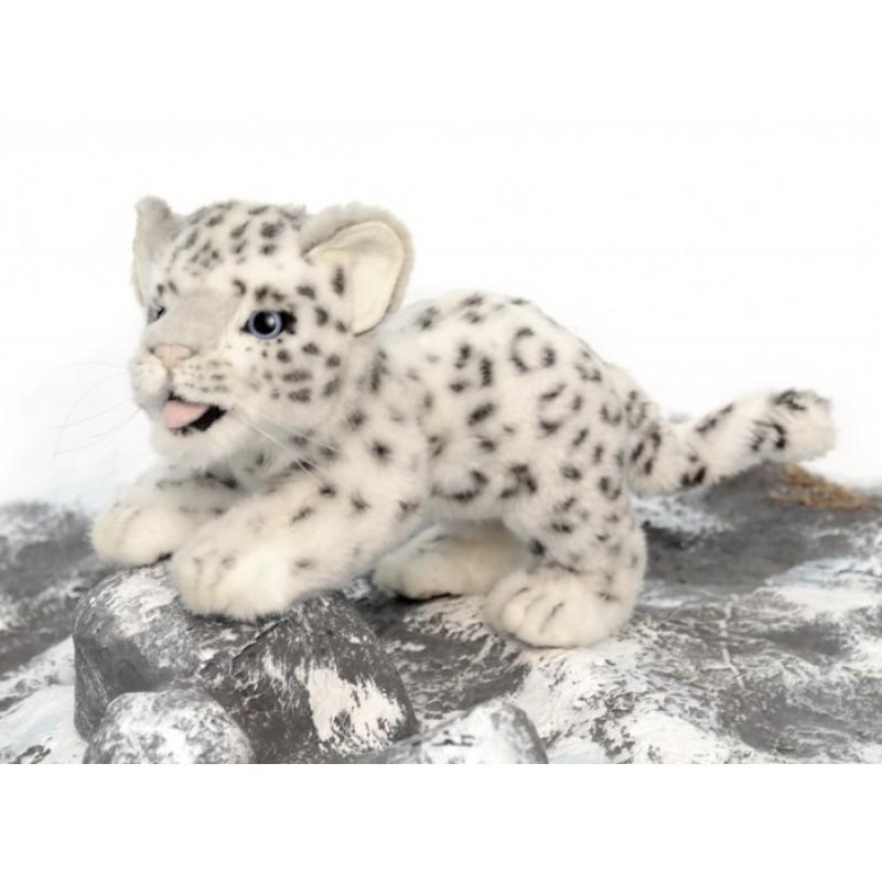 Мягкая игрушка Hansa Детеныш снежного барса 30 см