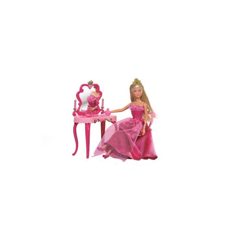 Simba Кукла Штеффи принцесса со столиком