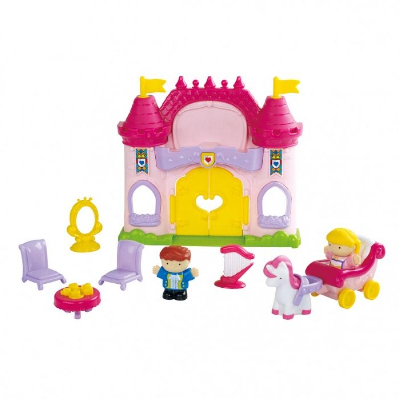 Playgo Игровой набор Сказочный замок 11 предметов