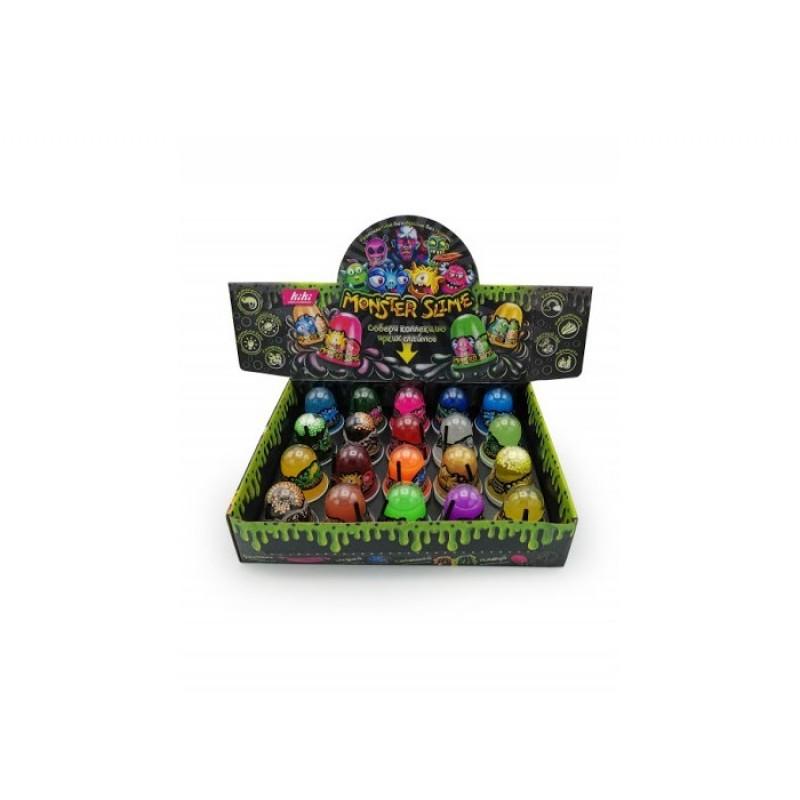 Развивающая игрушка KiKi Слайм Monster Slime Шоу-бокс 20 шт.