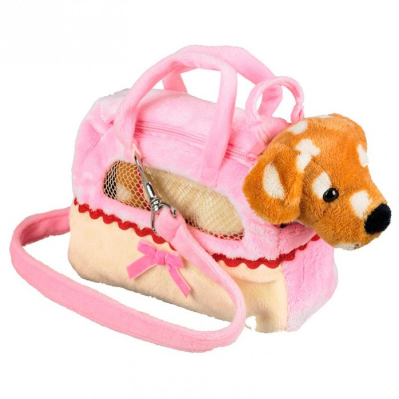 Мягкая игрушка Spiegelburg Собачка Patti в сумочке 25112 24 см