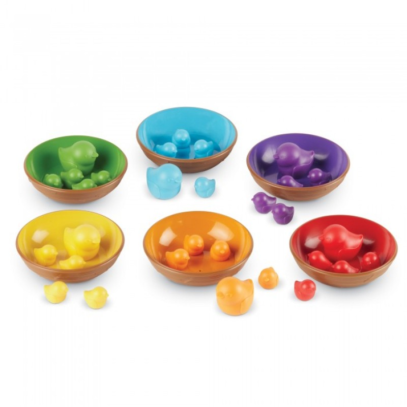 Сортер Learning Resources Набор Цветные гнёздышки (36 элементов)