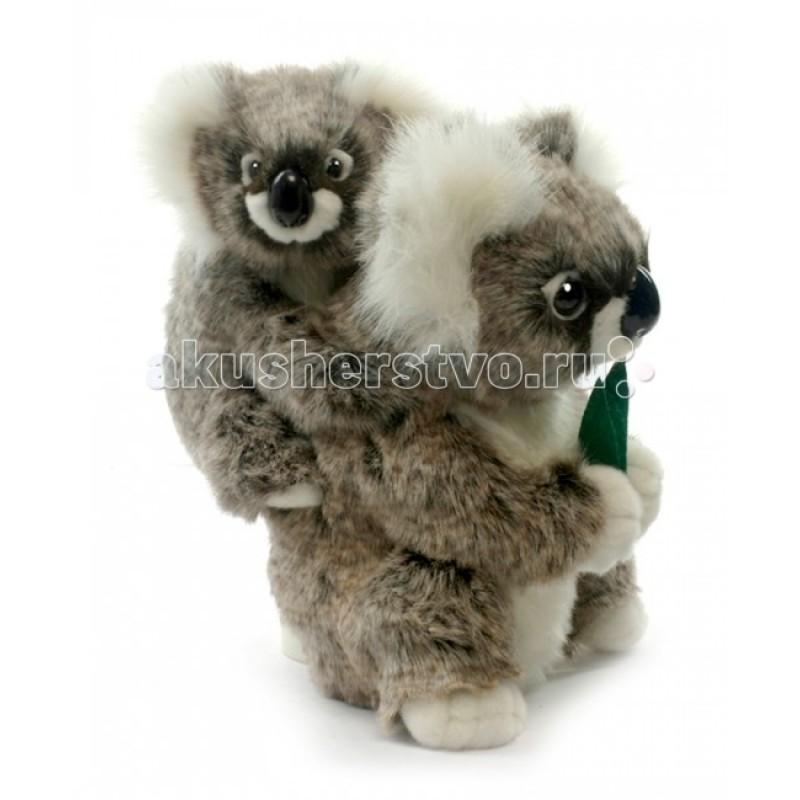 Мягкая игрушка Hansa Коала с детенышем 28 см