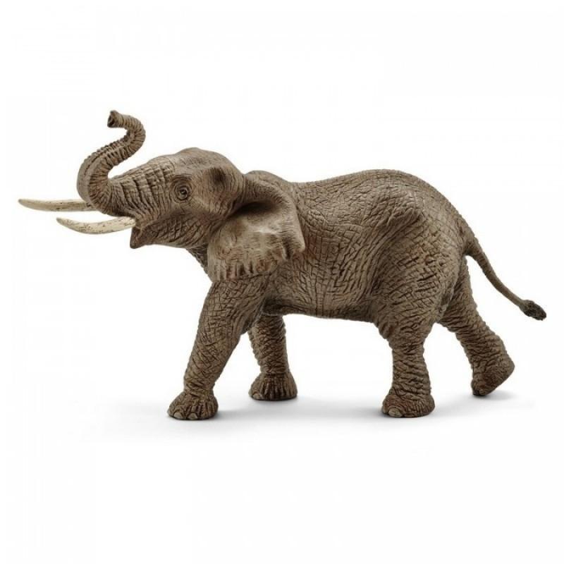 Schleich Фигурка Африканский слон самец