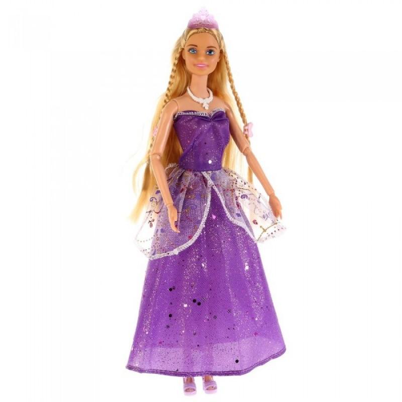 Карапуз Кукла София с цветными локонами 29 см