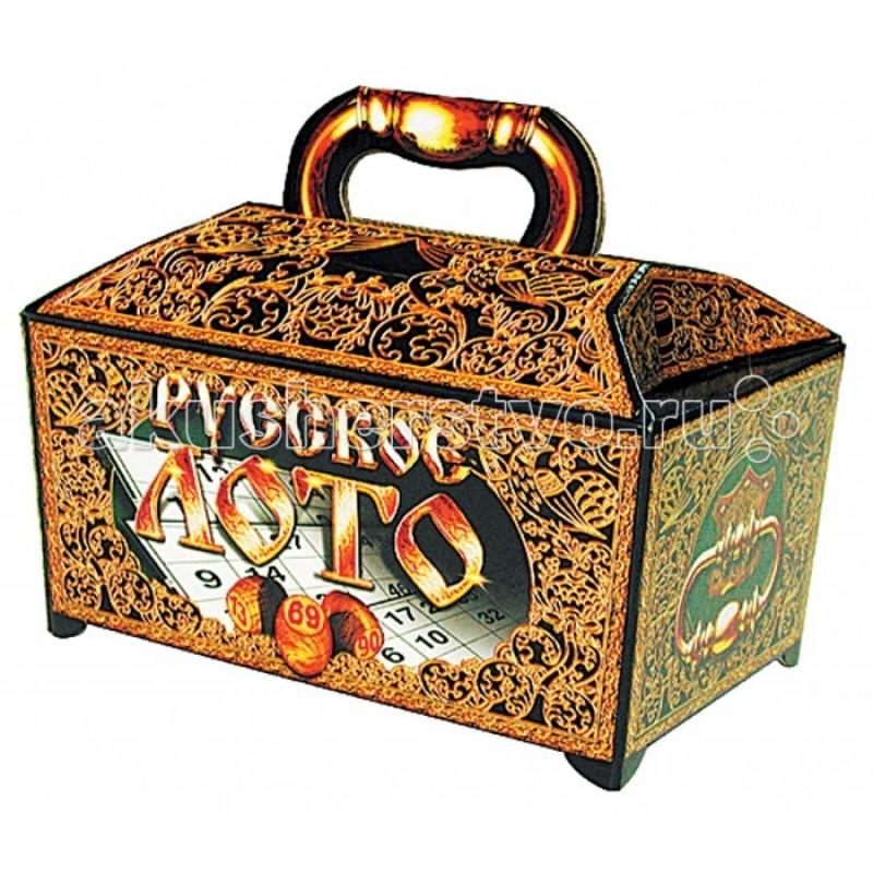 Десятое королевство Настольная игра Русское лото (в картонном ларце)