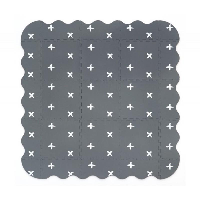 Игровой коврик FunKids с графикой Бебиарт-12, толщина 15 мм KB-090-25-NT